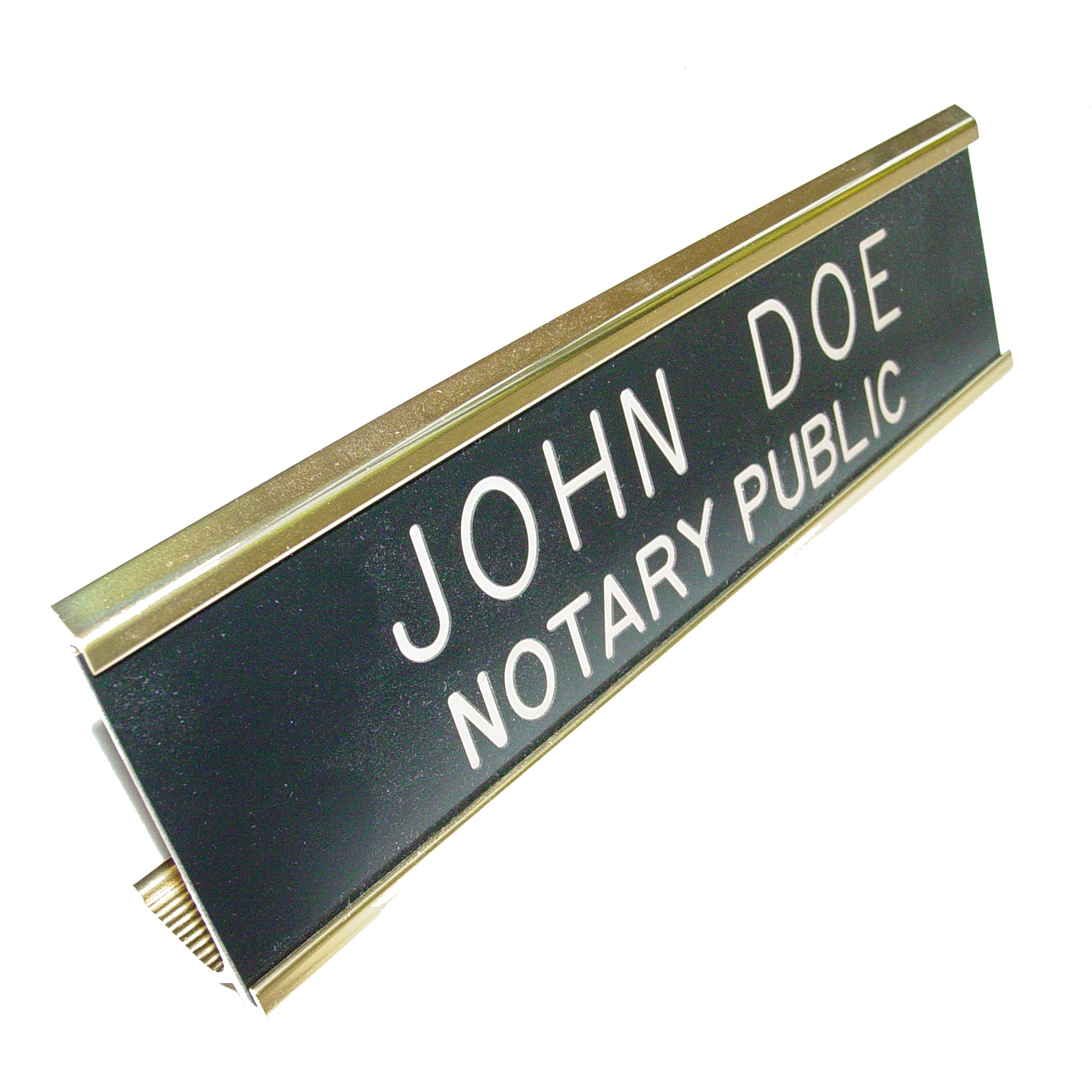 Indiana Notary Desk Sign