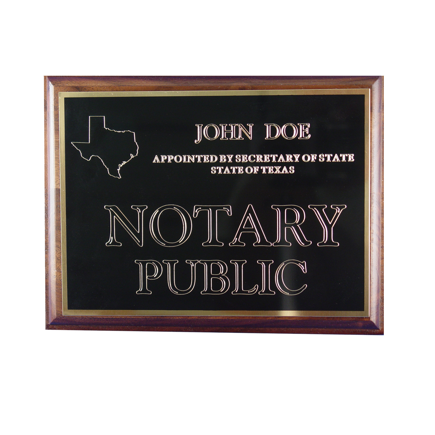 Indiana Notary Wall Sign