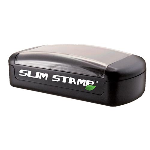 Indiana Notary Stamp Pre-inked - Slim Rectangular